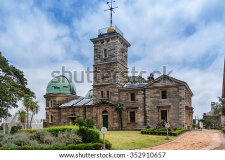 Sydney Observatory - stock photo