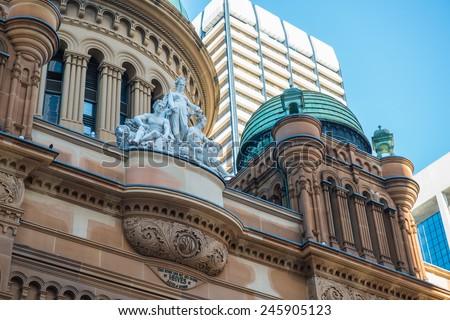 Sydney QVB - stock photo