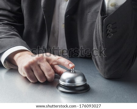symbol of poor service industry - stock photo