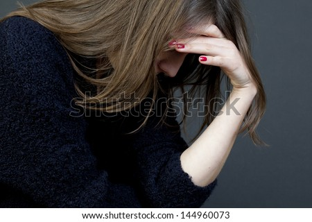 symbol picture for sexual abuse - stock photo