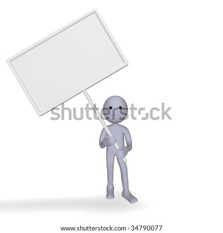 sympathetic with the character table - stock photo