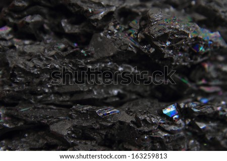 synthetic corundum mineral background - stock photo