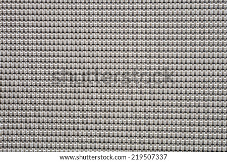Synthetic wire work texture weaving background - stock photo