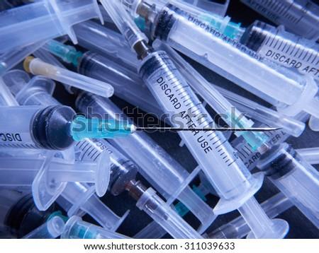 Syringes - stock photo