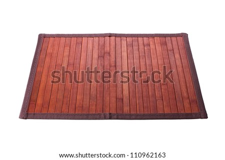 table mat - stock photo