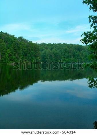 Table Rock Lake - stock photo