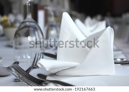 table set - stock photo