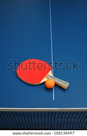 Table Tennis - stock photo