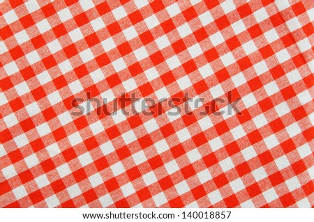 Tablecloth background - stock photo