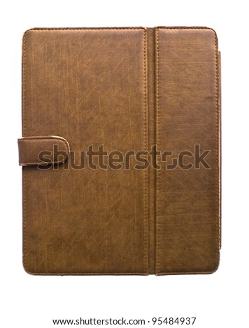 Tablet case - stock photo