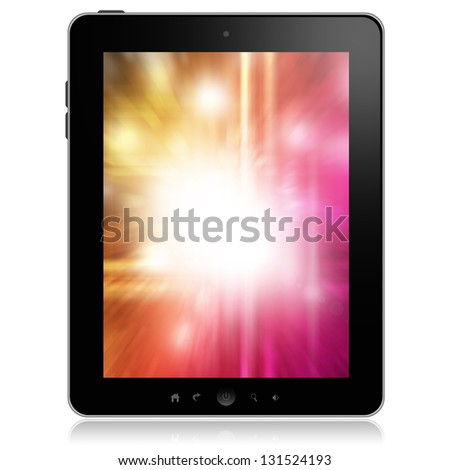 Tablet pc - stock photo
