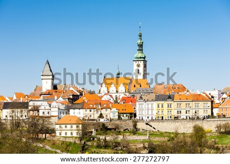 Tabor, Czech Republic - stock photo