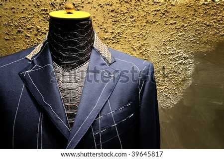 Tailors mannequin a Work in progress - stock photo
