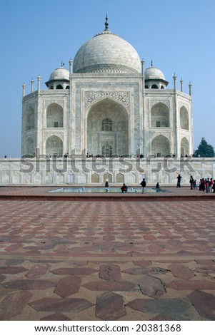 Taj Mahal 05 - stock photo