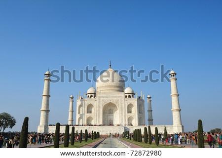 Tajmahal India - stock photo