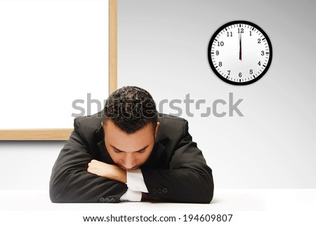 taking a nap  - stock photo