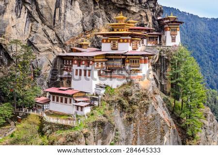 Taktsang Monastery - stock photo