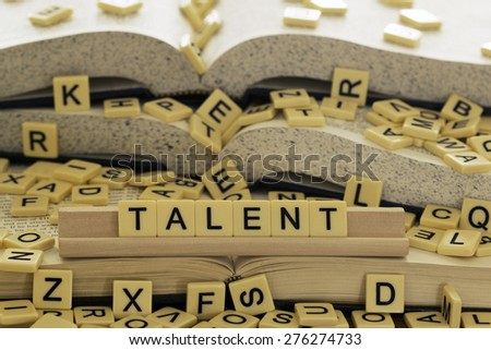 Talent - stock photo