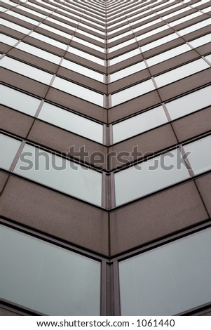 Tall business building 2 - stock photo