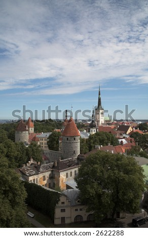 Tallinn Estonia - stock photo