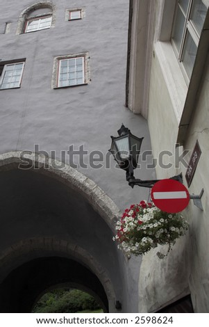 Tallinn Estonia Building - stock photo