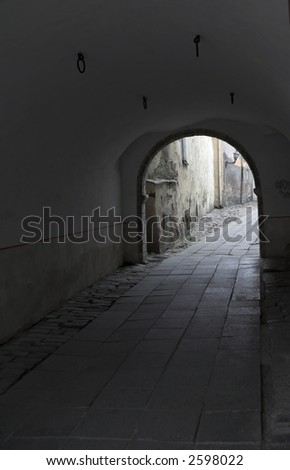 Tallinn Estonia Walkway - stock photo