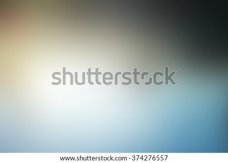 Tan and blue tones used to create abstract background  - stock photo