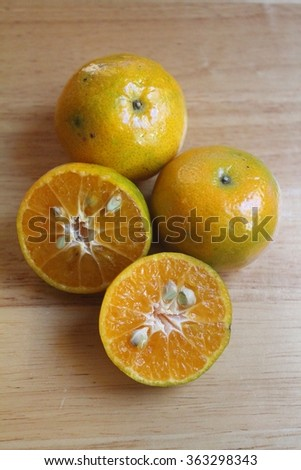 tangerine,fruit, fruits, green, group, half, health, healthy, isolated, juice, juicy, mandarin, natural, nature,orange, organic,, refreshing,sweet, table, tasty, tropical, vegetarian, vitamin  - stock photo