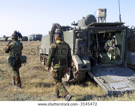 Tank. Army - stock photo