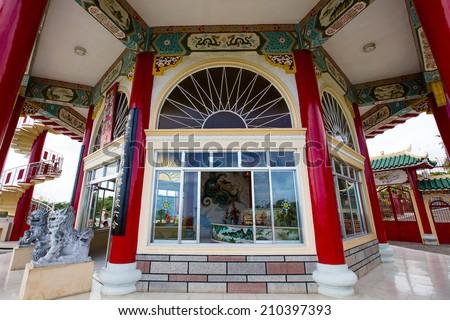Taoist Temple in Cebu , Philippines - stock photo