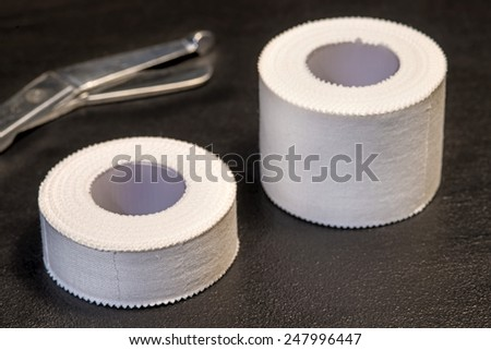 Tape, medical - stock photo