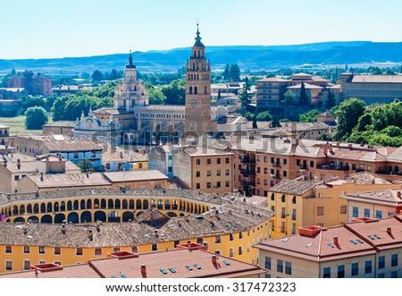 Tarazona, Zaragoza, Aragon, Spain - stock photo