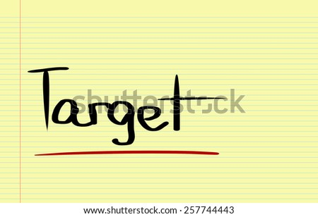 Target Concept - stock photo