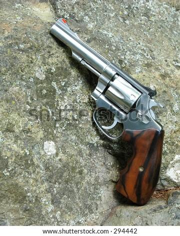 Target Pistol - stock photo