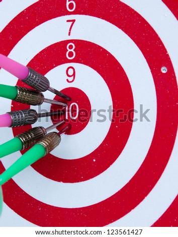 Target. Success concept - stock photo