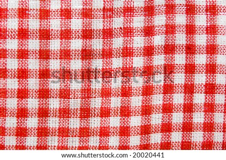 Tartan fabric from a wool, as a background - stock photo
