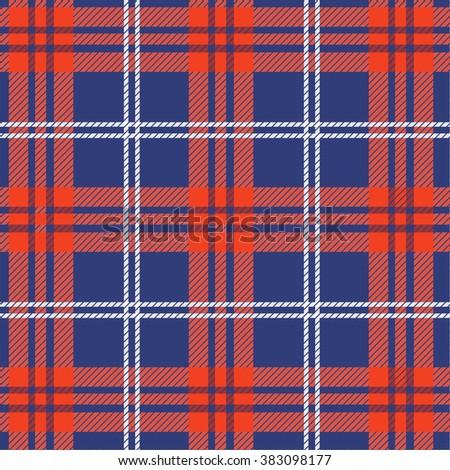 Tartan, plaid Seamless pattern. - stock photo