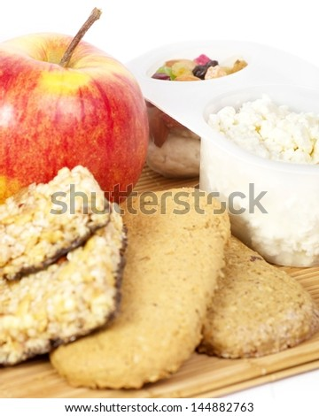 Tasty Breakfast Healthy food - stock photo