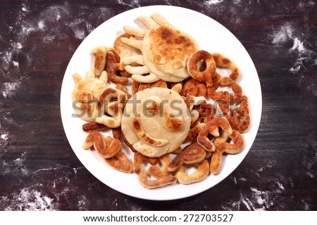 Tasty cookie              - stock photo
