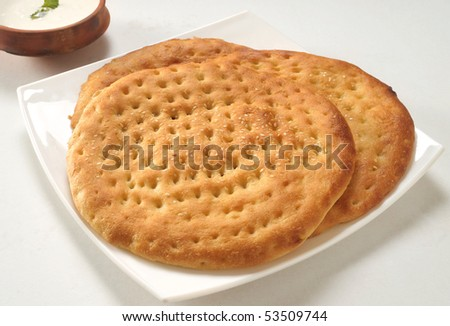 Tasty Kulcha - stock photo