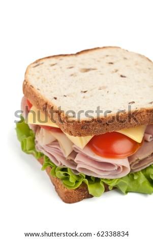 tasty sandwich - stock photo