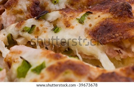 Tasty Sliced Pizza - stock photo