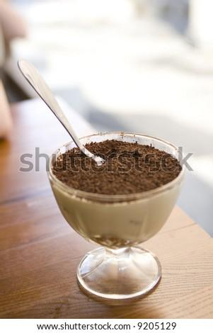 tasty tiramisu dessert - stock photo