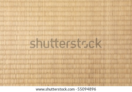 Tatami texture - stock photo
