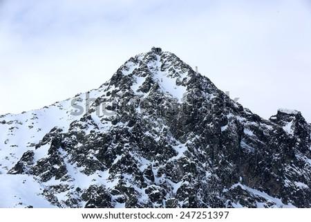 Tatra Mountains, Lomniysky Stit. Slovakia  - stock photo
