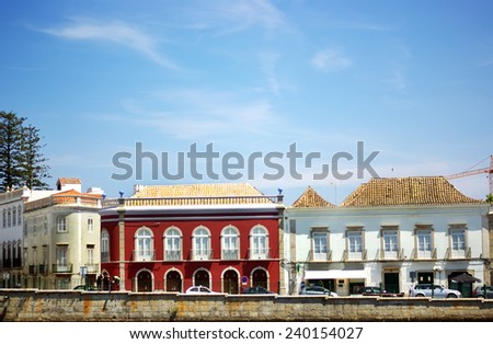 Tavira, Algarve, Portugal  - stock photo