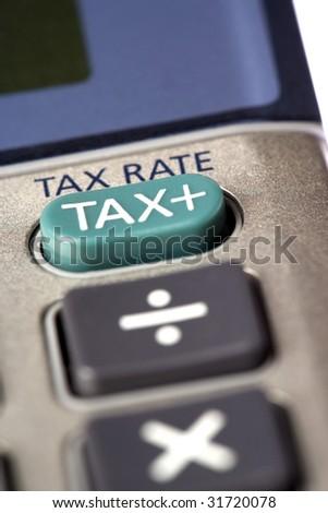 Tax Calculator - stock photo