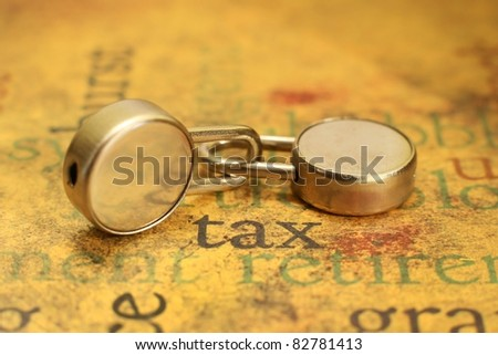 Tax concpet - stock photo