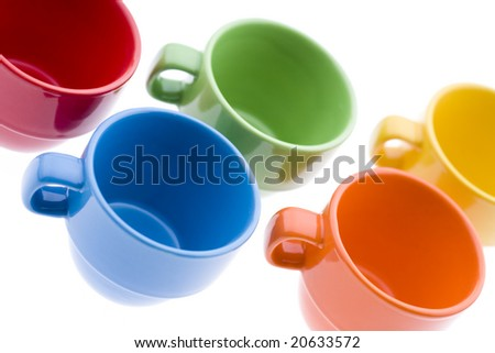 Tea Cups - stock photo