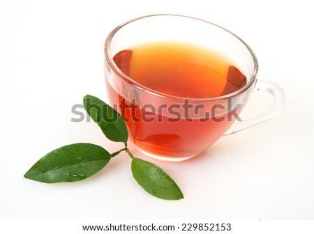 tea mug - stock photo
